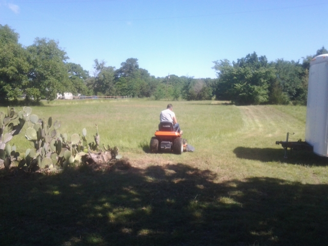 cutting grass 2