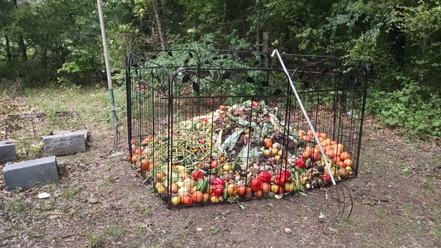 compost heap 29 april 2017