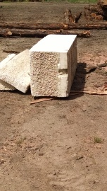 milled foam block