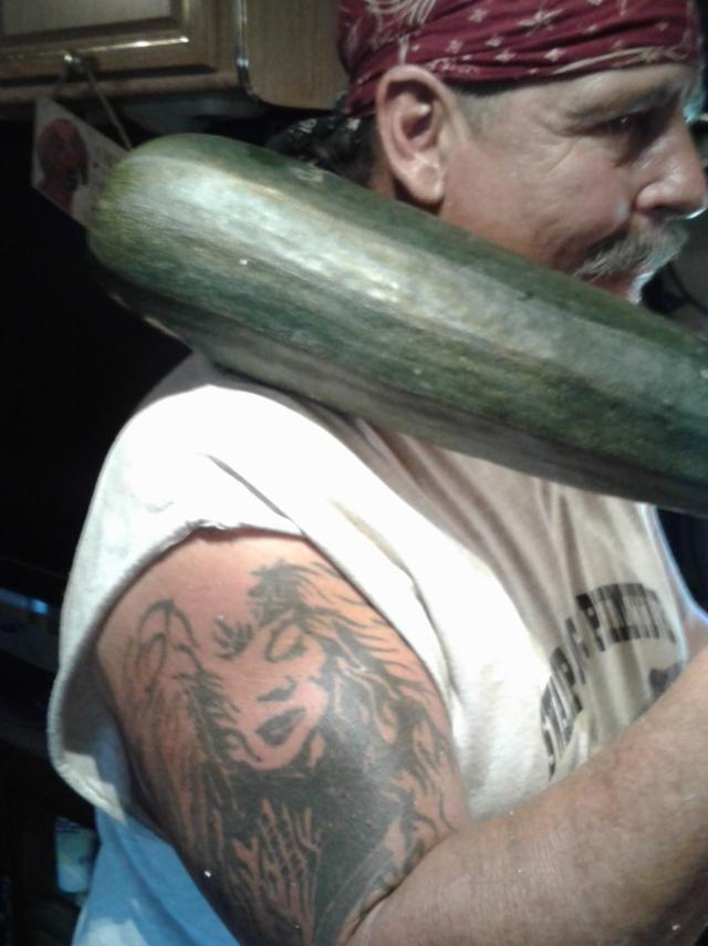 monster zucchini